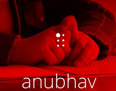 anubhav - the new era braille slate (Patented design)