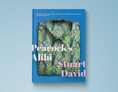 Peacock's Alibi Cover Design
