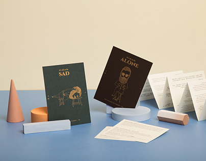 Pocket book series packaging design