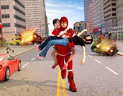 US Light Robot Speed Hero