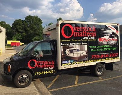 Box Truck – Overstock Mattress – Wrap