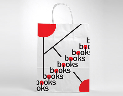 BOOKS Paper Bag & Wrapping Paper