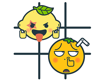 KAMOJI with Tic Tac Toe - Animated iMessage Stickers
