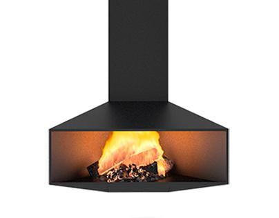 Caliu fireplace by DAE