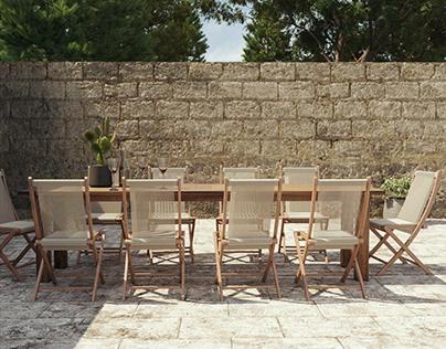 Luxurious patio design