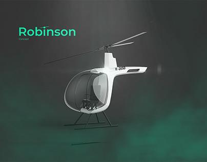 Концепт вертолета Robinson 2050