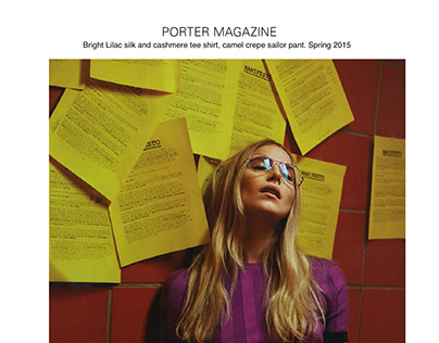 Porter Magazine Spring 2015