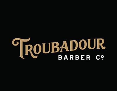 Troubadour Barber Co. Identity