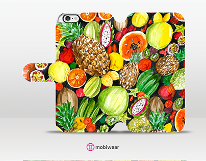 Watercolor Tropical Mix - mobile case contest
