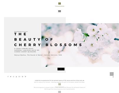 Cherry Blossom Website