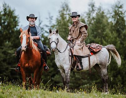 Through Estonia by horseback