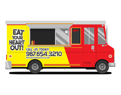 EAT YOUR HEART OUT! FOOD TRUCK