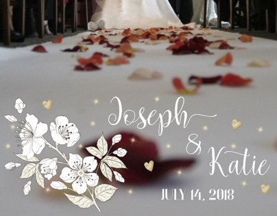 Snapchat Filter for Joseph and Katie