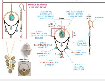 Jewelry Design Techs using Adobe Illustrator