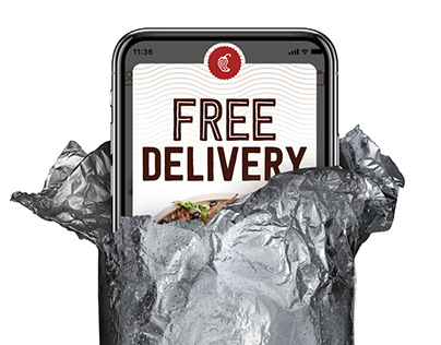 Chipotle Unwrapping Burrito Phone