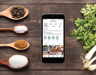 Blend Catering Social Media Portfolio