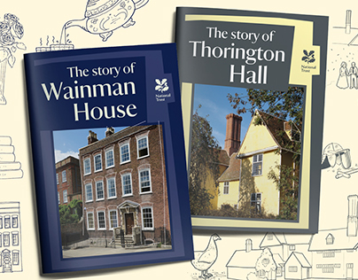 National Trust Holiday Cottage guidebooks