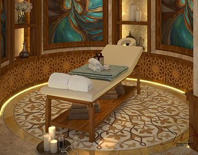 Визуализация массажа для дизайн студии Chernets Design