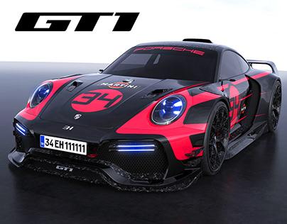 Porsche 911 GT1 (992)
