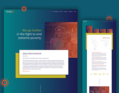 Trickle Up 2018 Annual Report Website