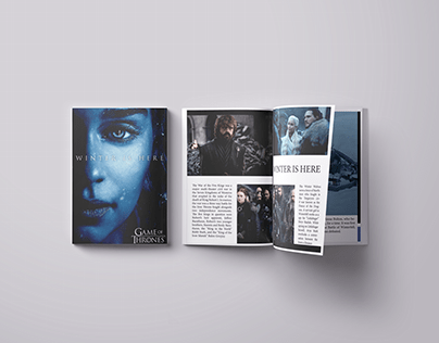 Game Of Thrones magazine