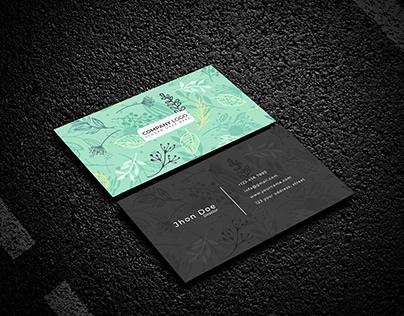 Creative Business card - modern business card