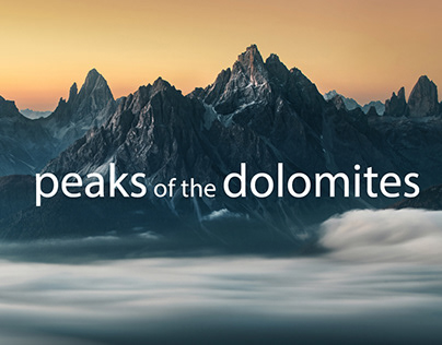 Peaks of the Dolomites