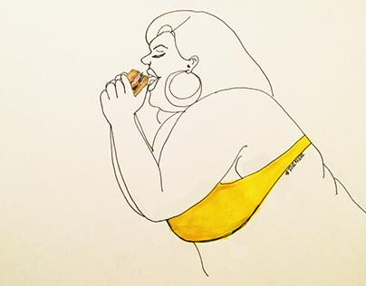 Fat Girls Eating