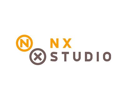 NX Studio logo animation - Animated Gif