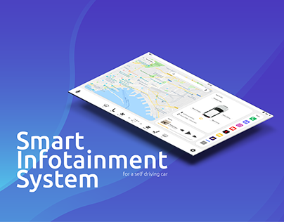 Smart Infotainment System - for a self driving car