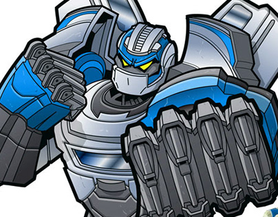 Transformers vector character designs & toy packaging i