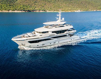 M / Y Kando 110 - Yacht Interior & Exterior Design