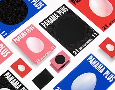 Panama Plus Festival 2014 – Poster & Exhibition Design