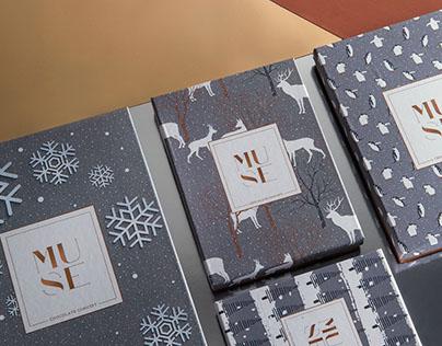 MUSE Xmas Chocolate Packaging