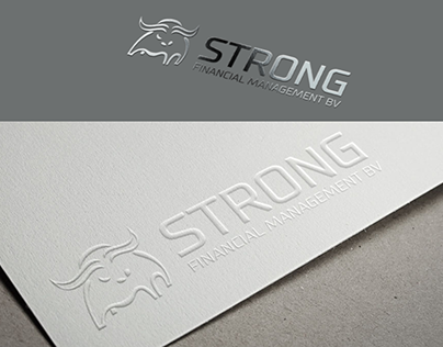 Logo concept for STRONG Financial Management BV