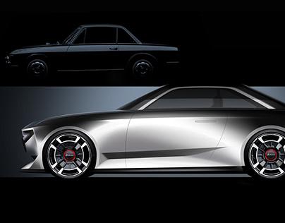 Exterior Design: Lancia Fulvia Hommage