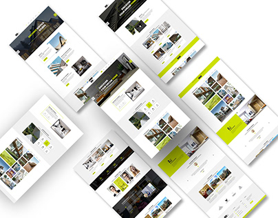 Interior Design & Architecture PSD Template