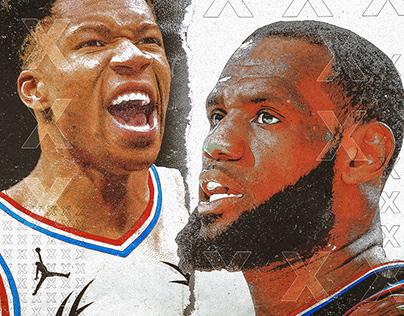 Foot Locker 2019 NBA All-Star Illustrations