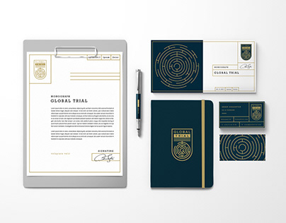 GLOBAL TRIAL - LOGO & CORPORATE IDENTITY