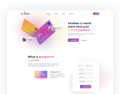Online Payments Start Page