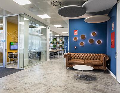 Office spaces in Madrid // Oficinas en Madrid