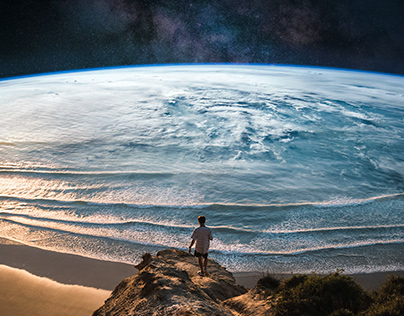 PHOTO MANIPULATIONS (SPACE SERIES)