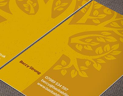 Baobab Films Branding