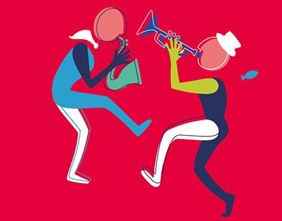 Festival des Fanfares / Affiche