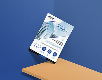 Free Professional Business Flyer Design Template Ai