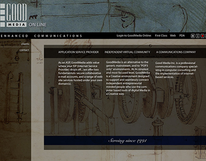 web site design / assembly