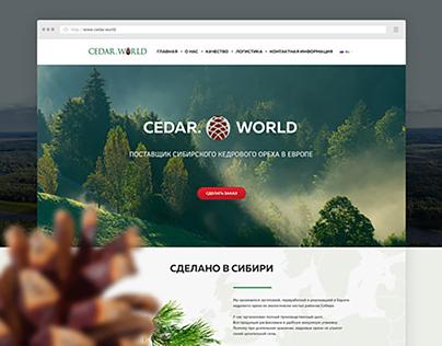 Cedar.World - Landing Page