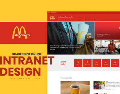 SharePoint Online - Modern Experience Intranet Design