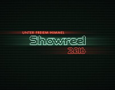Unter freiem Himmel - Showreel 2016