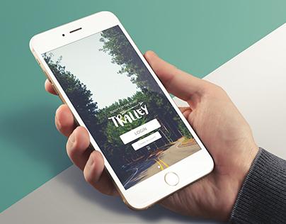 Tralley • App Design #MadeWithAdobeXD